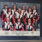 Men´s Alpine Speed Team - olympic Winter Game Nagano 1989